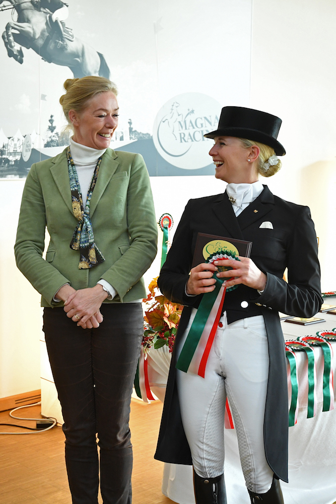 Die Deutsche Jessica von Bredow-Werndl wurde ihrer Favoritenrolle gerecht und räumte im Racino groß ab. Foto:© Privat