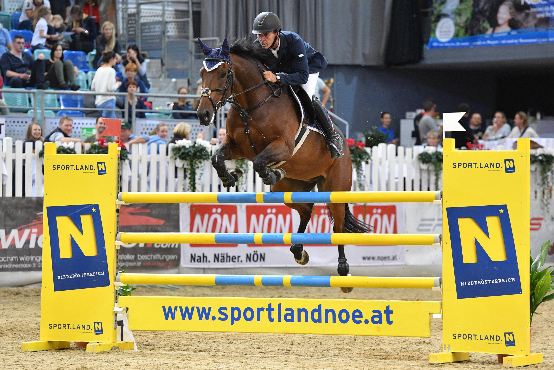 Christian Schranz und VIP 2 wurden Zweite im Preis vom OEPS. © Horse Sports Photo