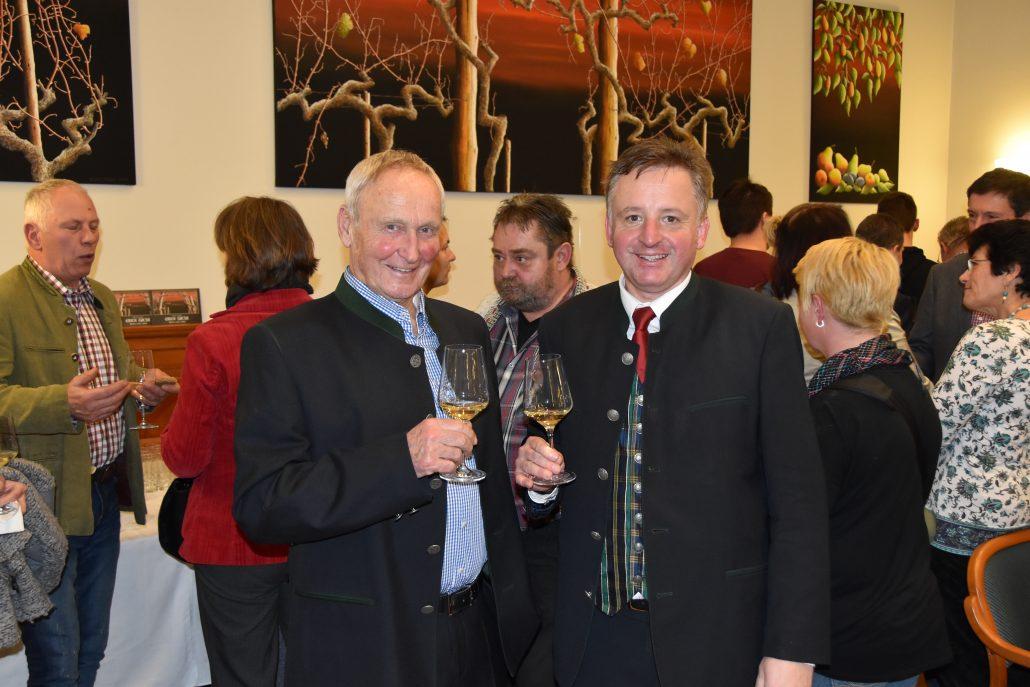 NOEPS-Präsident Gerold Dautzenberg und Kulturreferent Otto Kurt Knoll. (c) NOEPS