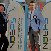 Mag. Bettina Breunlich übernimmt ab sofort die Öffentlichkeitsarbeit des NÖ Pferdesportverbandes von Felix Berger. © NOEPS