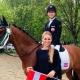 Karoline Valenta und Pia Stallmeister konnten beim Weltcupturnier in Polen schöne Ergebnisse erzielen. © privat