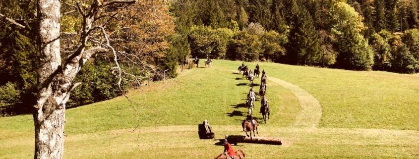 Impressionen von der Reitjagd am Myrahof am 30. September. © privat