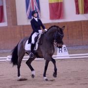 Elena Erbstein und Larifari 2 werden Zweite im Bartlgut Cup Klasse M. © Istvan Lehoczky