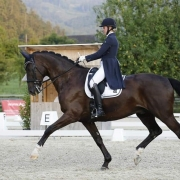 Theresa Glaser und Dio Nero in Frohnleiten. © privat