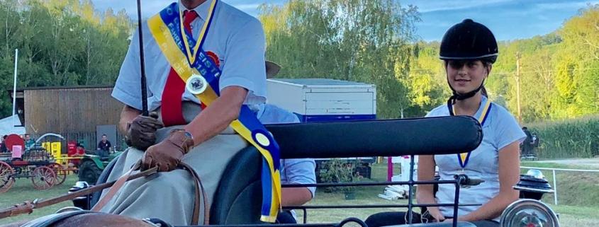 Herzliche Gratulation an unseren NOEPS-Vizepräsidenten Christian Schlögelhofer zur Verleihung des Fahrerabzeichens in Gold. © privat