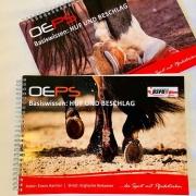 Das neue OEPS Skriptum zum Thema Huf gibt es in der klassischen Variante und speziell für Westernreiter. © OEPS