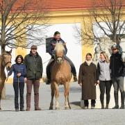 Von 16. bis 17. März war Ruth Giffels bereits zum 9. Mal zu Gast in Schlosshof. © Regina Fabian