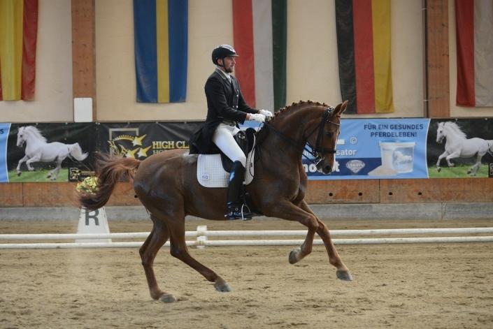 High Class Horse Center Weikersdorf: Niederösterreichischer Sieg durch Christian Almer und Sir Marlon im Grand Prix. © Istvan Lehoczky