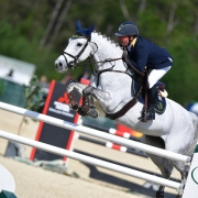 Tobias Bachl jumpte zum Sieg im Großen Preis. © HORSIC.com