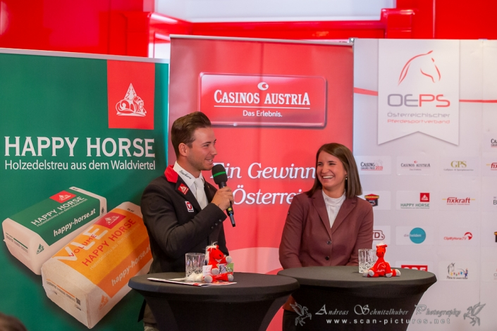 Magdalena Margreiter (NÖ) und Willi Fischer zählen zu Österreichs großen Nachwuchshoffnungen – nicht nur im Casino Grand Prix. © OEPS/Andreas Schnitzlhuber www.scan-pictures.net