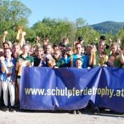 Fünf der insgesamt neun Runden der Schulpferdetrophy 2019 finden in Niederösterreich statt. © NOEPS