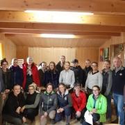16 frisch gebackene Übungsleiter Reiten im URFV Allhartsberg. © privat