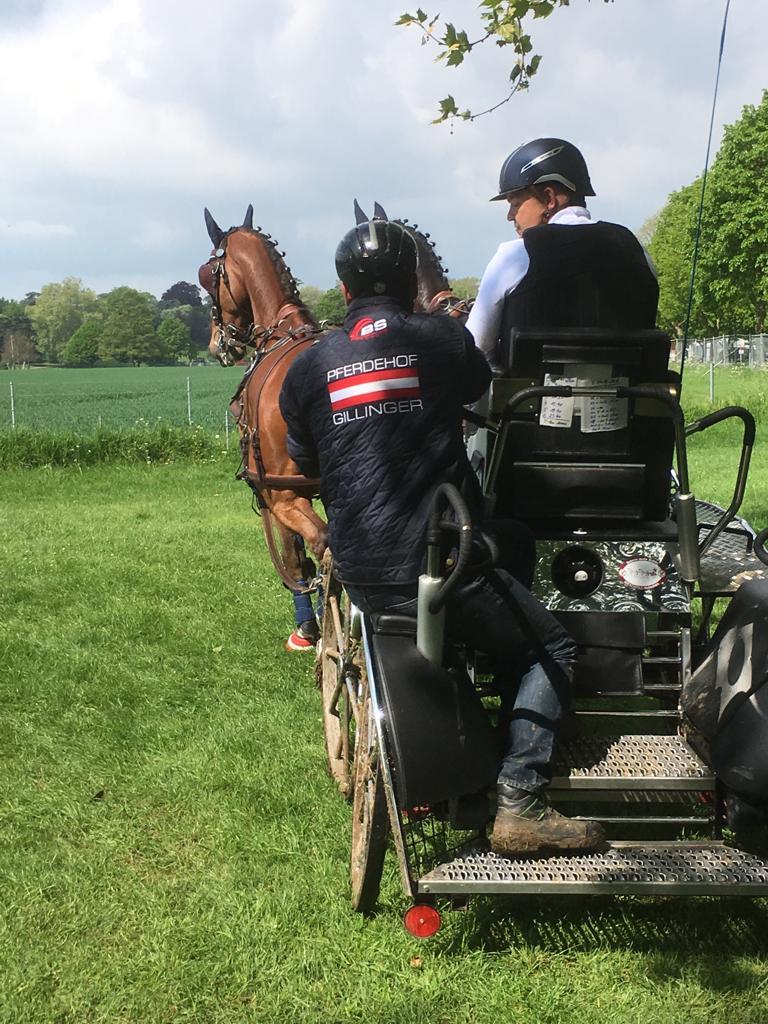 Team Gillinger bei der Royal Windsor Horse Show. © privat