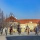 Ende April fand auf der wunderschönen Anlage von Schlosshof im Marchfeld ein Kurs mit Manuel Oliveira statt. © V. Kierner