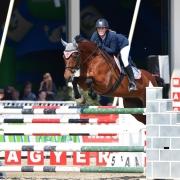 Heimsieg über 1,25 m für Sabine Schranz und Castro de la Bryere. © HORSIC.com