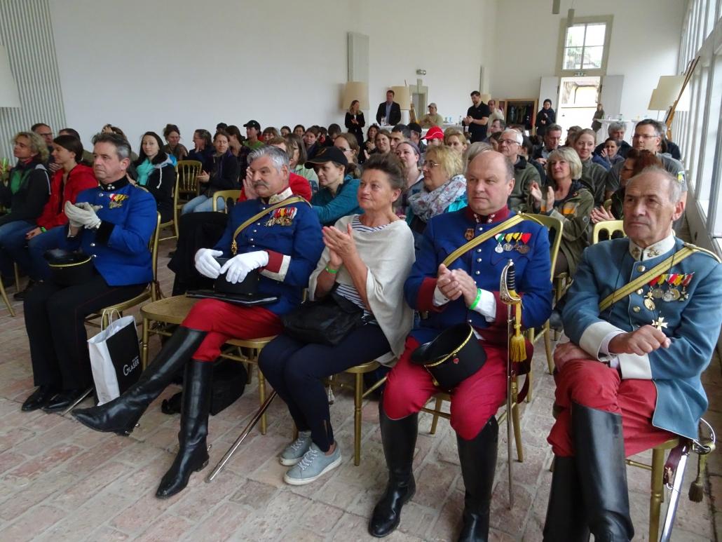 Impressionen von der Eröffnung des 26. Marchfelder Schlösserrittes. © privat