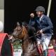 So sehen Sieger aus! Jörg Domaingo jubelt über seinen Casino Grand Prix-Sieg. © OEPS/www.scan-pictures.net