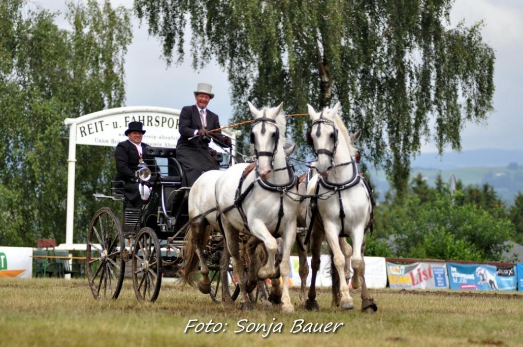 Bronze bei der Österreichischen Meisterschaft der Vierspänner in Altenfelden für Andreas Ruschitzka. © Sonja Bauer