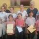 Wir gratulieren den Teilnehmern der Sonderprüfung am 11.06. im Reitstall Gallbrunn sehr herzlich zu ihren bestandenen Prüfungen. © privat