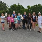 Am 15. Juni fand im URFV Allhartsberg ein ganz besonderer Workshop für jugendliche Pferdesportler statt. © privat