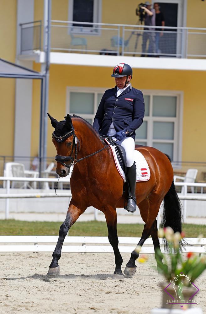 Teilnehmer, Olympiareiter und Veranstalter Thomas Haller. © TEAM myrtill