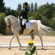Die Sieger der Araber Trophy Klasse A: Melanie Panholzer und Khen Saabis Estefan. © ME4UFoto