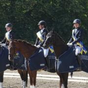 Am 29. und 30. Juni wurden in Amstetten beim RV Geiger die Titel der Niederösterreichischen Landesmeister der Ländlichen Reiter im Dressurreiten vergeben. © Manuela Baldauf & Cornelia Plocek