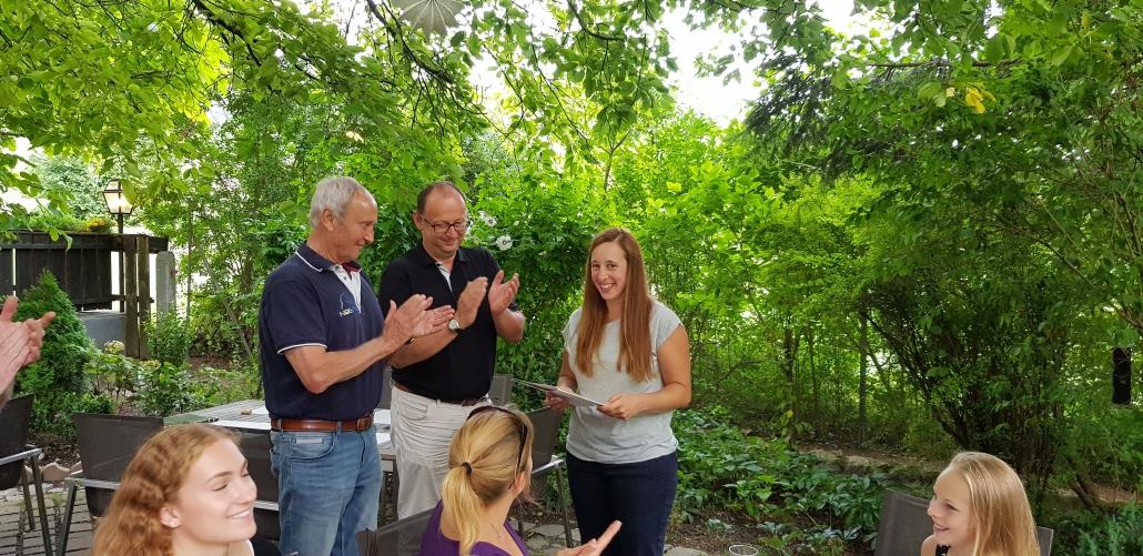 Lilli Lehrmann erhielt das Goldene Ehrenzeichen des NOEPS. © NOEPS