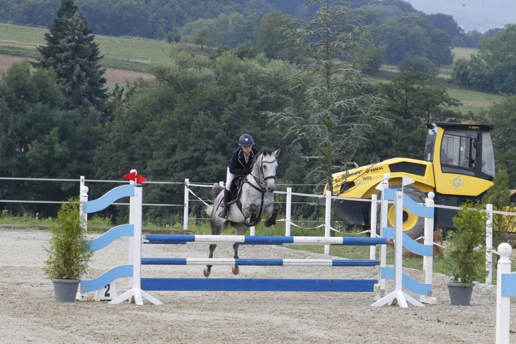 Eines von Niederösterreichs erfolgreichsten Pony-Duos: Adina Neuretter & Donit.  © Krisztian Buthi