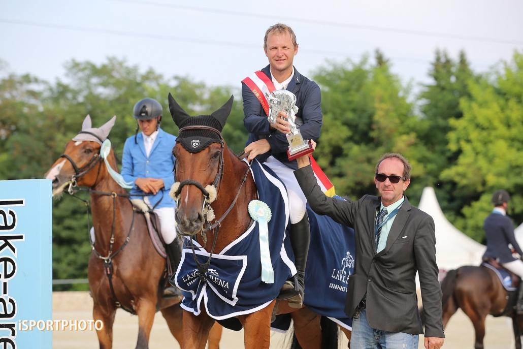 Ales Opatrny (CZE) triumphierte zum Abschluss vom Equestrian Summer Circuit 2019 im Ostarrichi Grand Prix 2019. © iSPORTPHOTO