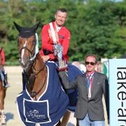 Pius Schiwzer gewinnt den Lake Arena Grand Prix. ©iSPORTPHOTO