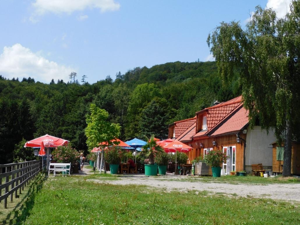 Einkehrmöglichkeit im Wienerwald. © privat