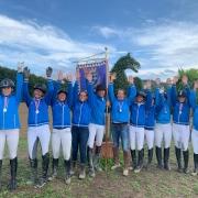 Platz 2 für Team Niederösterreich Blau bei der BLMM 2019 in Ried am Riederberg. © privat