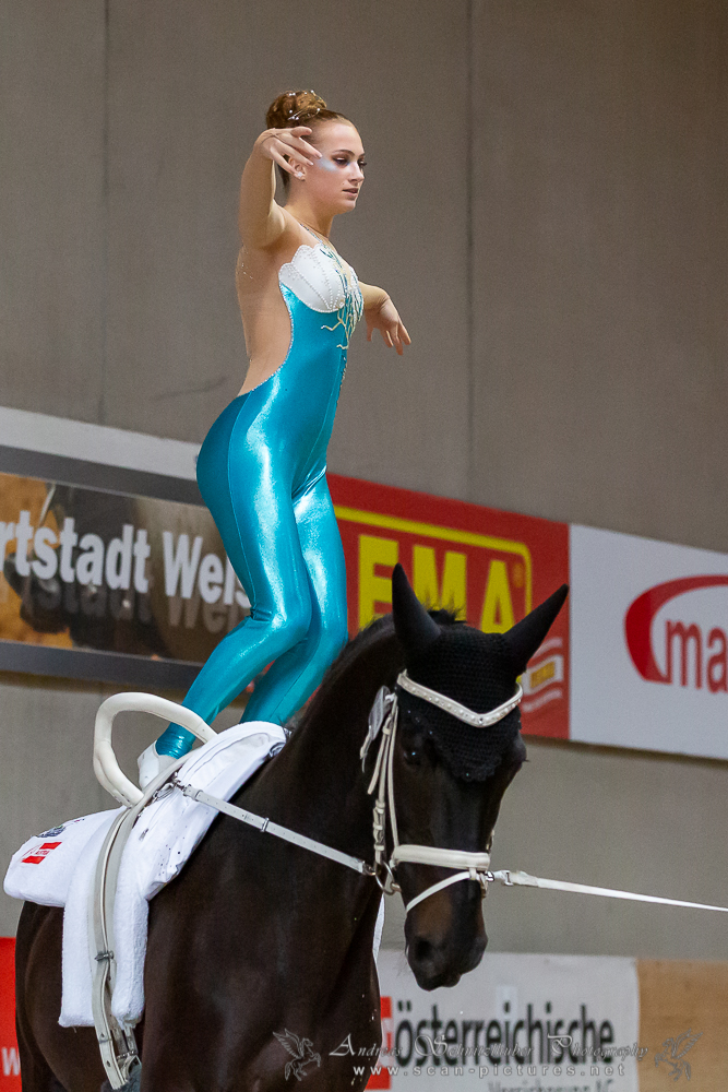 Die neue Österreichische Meisterin der Junioren Damen kommt aus Niederösterreich: Sarah Gollubics (Wildegg). © OEPS | Andreas Schnitzlhuber www.scan-pictures.net