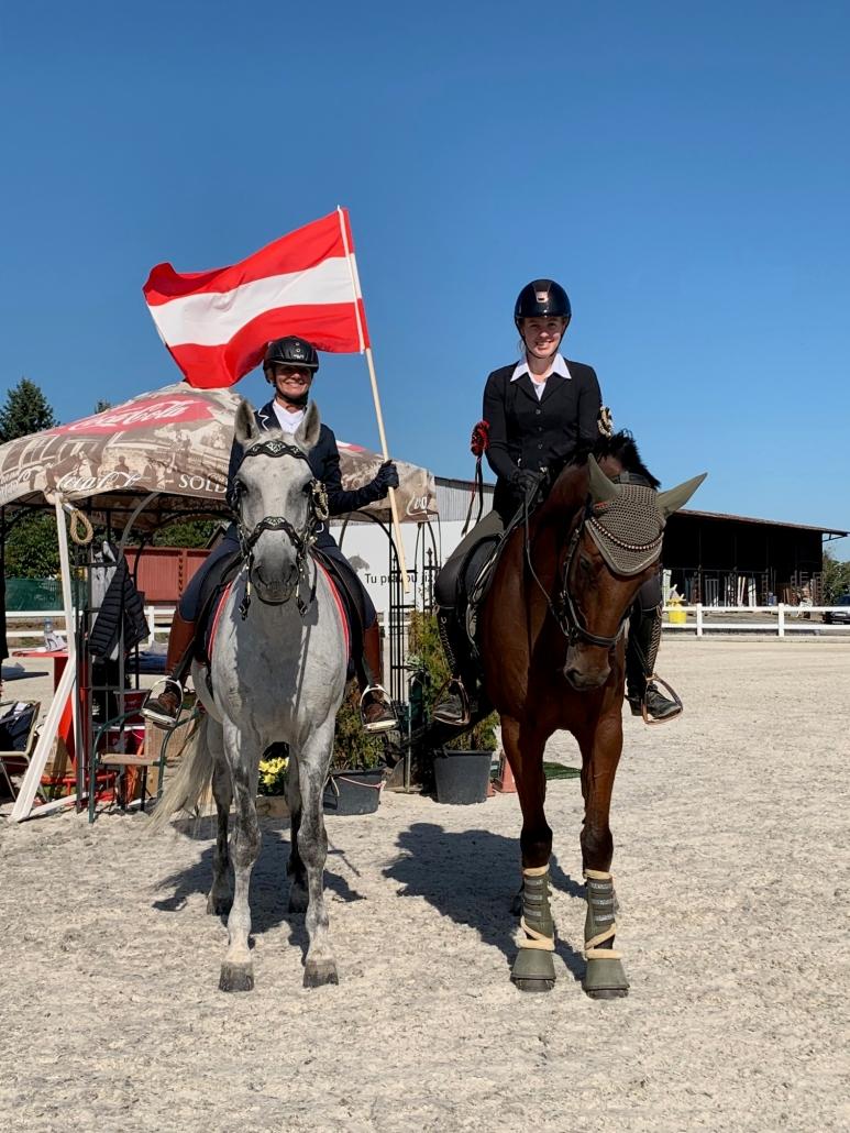 Tolle Siege für Alexandra Tassul und Claudia Trümmel in Tschechien. © privat