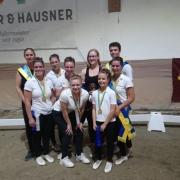 Siege in 3 Klassen gab es für die Voltigierer des UVT Eligius bei den NÖ Landesmeisterschaften am Reuhof. © Facebook UVT Eligius