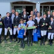 Herzliche Gratulation zur erfolgreichen Sonderprüfung auf der Leithner Ranch in Wolfsthal. © privat