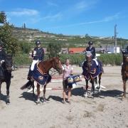 Die 3. Runde der Springtour 2019 der Ländlichen Reiter fand beim CSN-C neu von 21. - 22.09.2019 in Rohrendorf statt. © Pfoser