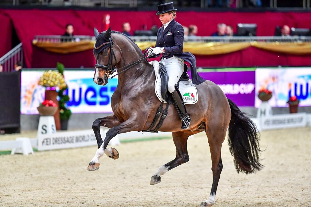 Zum 5. Mal wird der FEI Dressur Weltcup beim Pferde- und Hundesfest in Salzburg zu Gast sein. © Daniel Kaiser