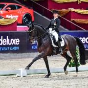 Victoria Max-Theurer und Rockabilly glänzten im horsedeluxe CDI4* Grand Prix Special. © Daniel Kaiser