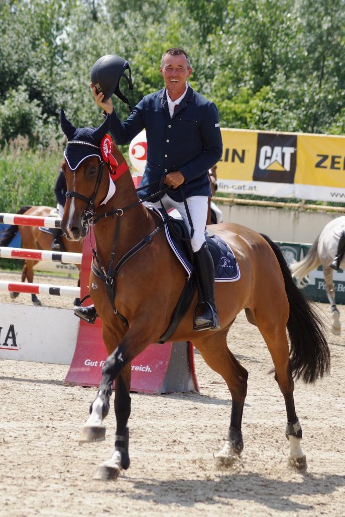 Nicht nur im Sport, sondern auch als Veranstalter erfolgreich unterwegs: Christian Schranz. © pferdenews.eu