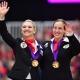 Zwei EM-Goldmedaillen (Einzel & Gruppe) gab es 2019 für Katharina Luschin in Ermelo. © im|press|ions – Daniel Kaiser