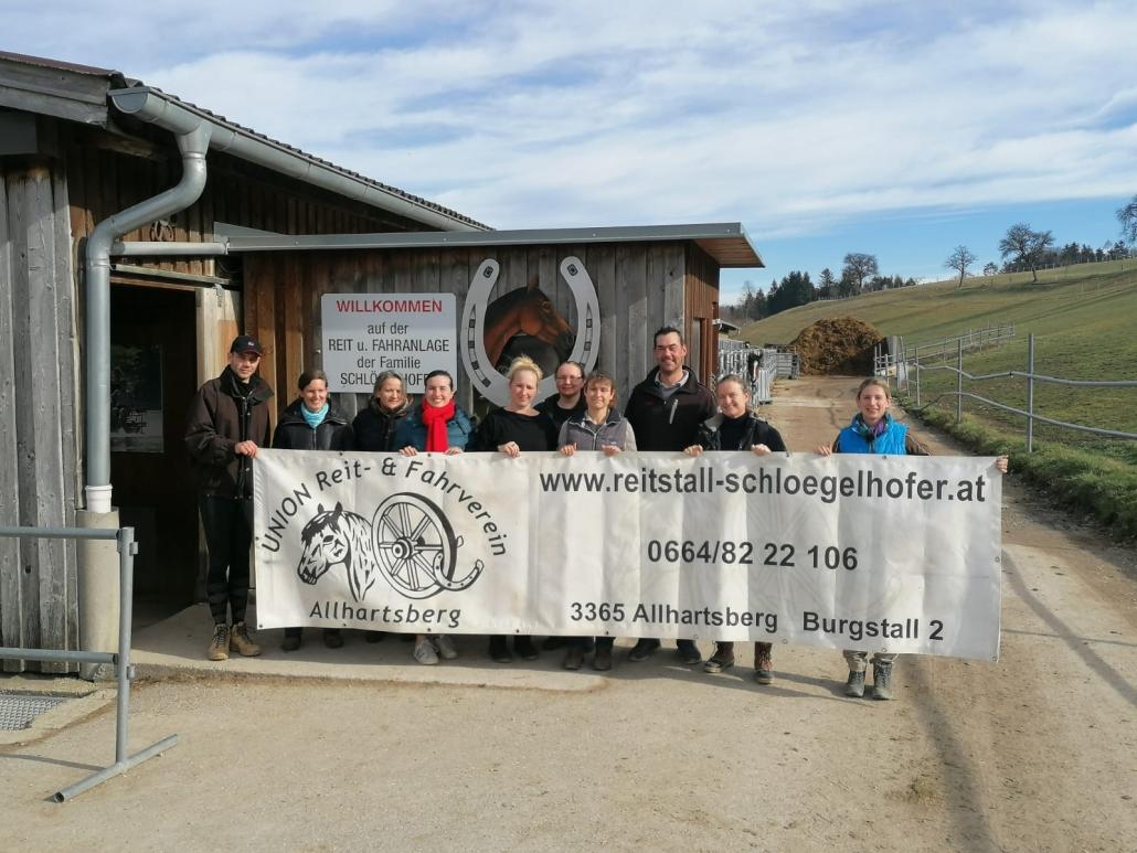 Niederösterreich kann sich über sieben neue Pferdesamariter freuen. © privat