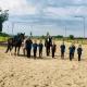Die erste Sonderprüfung zum Hufeisen Voltigieren fand im Reiterhof Gallbrunn statt. © Verena Bauer