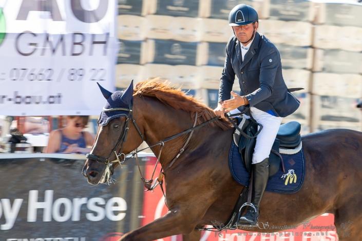 Der 2. Casino Grand Prix-Sieger 2020 heißt Siegfried Schlemmer. © OEPS | www.scan-pictures.net