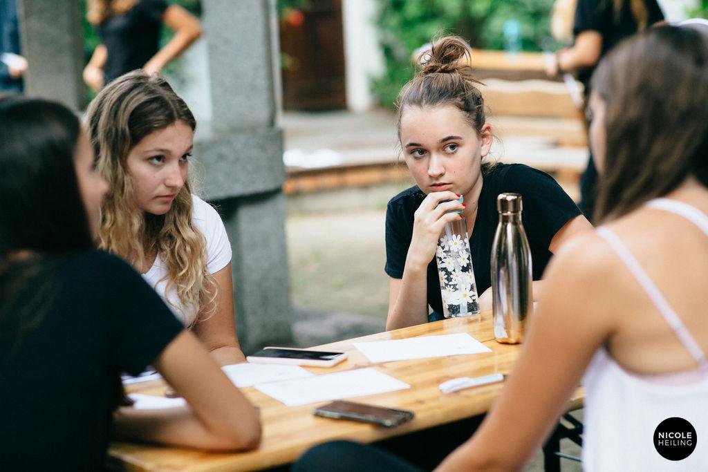 Es gab viel zu Lernen, zu Fragen und zu Besprechen bei der Summer Academy 2020. © Nicole Heiling