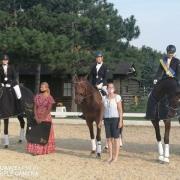 Von 12. bis 13. September wurden im High Class Horse Center die NÖ LM der Ländlichen Reiter in der Dressur gekürt. © privat
