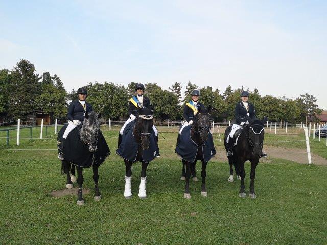 Wir gratulieren den frischgebackenen NÖ Landesmeisterinnen und den Platzierten. © Cornelia Sonnleithner