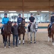 Tolles Training mit Harald Riedl im Magna Racino. © privat