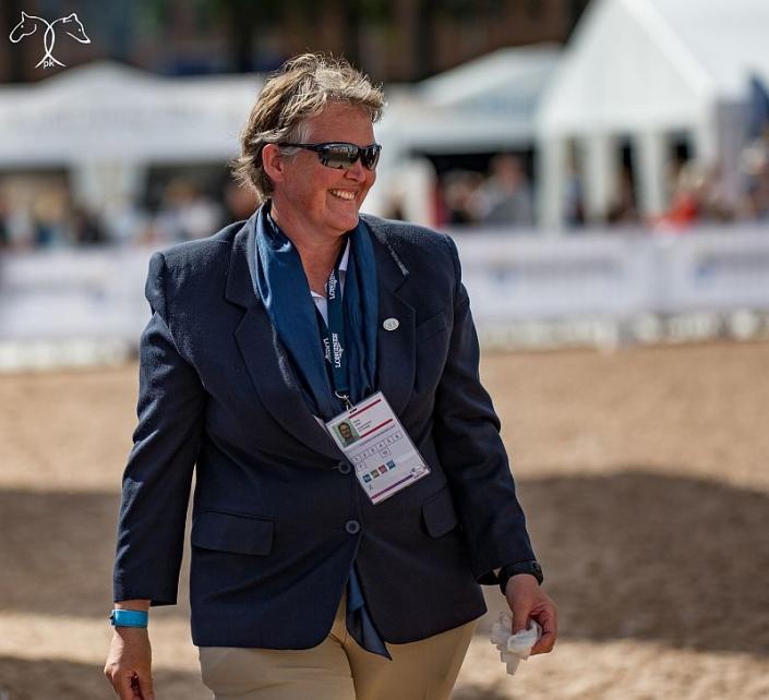 Als Steward war Petra Choc sowohl bei Paraolympischen Spielen, als auch bei Welt- und Europameisterschaften im Einsatz. © Petra Kerschbaum